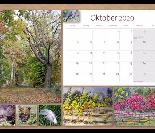 Kalender 2020, Kunst & Landschaften, Ker