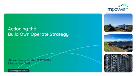 Actioning the Build Own Operate Strategy