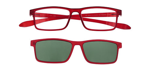 Proximo leesbril met zonneclip