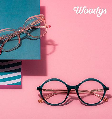 Woodys Barcelona - dames (acetaat)