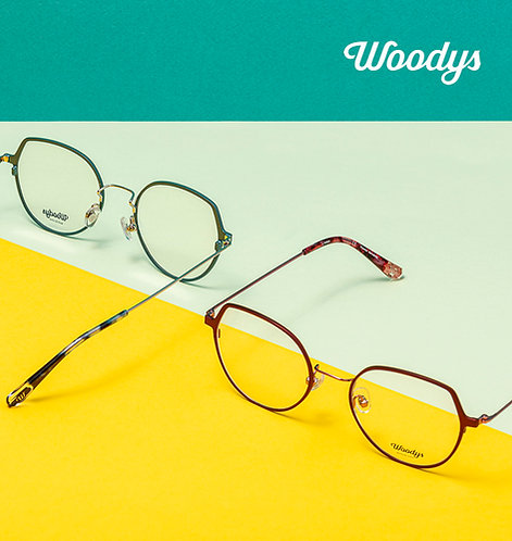 Woodys Barcelona - dames (metaal)