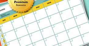 Social Media Calendar Planning Template