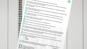 101 Steps to Self-Publishing Checklist