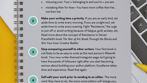 Five Things You Can Do RIGHT NOW to Become a Better Writer