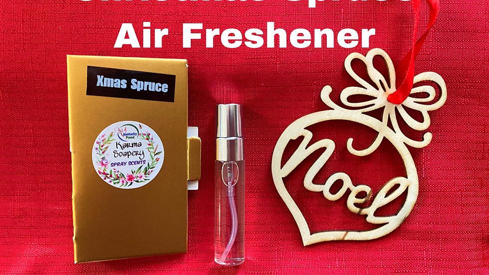 Christmas Spruce Air Freshener Ornsment