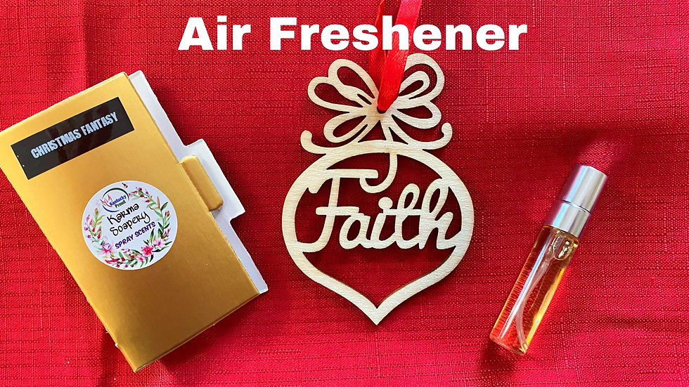 Christmas Fantasy Ornament Air Freshener