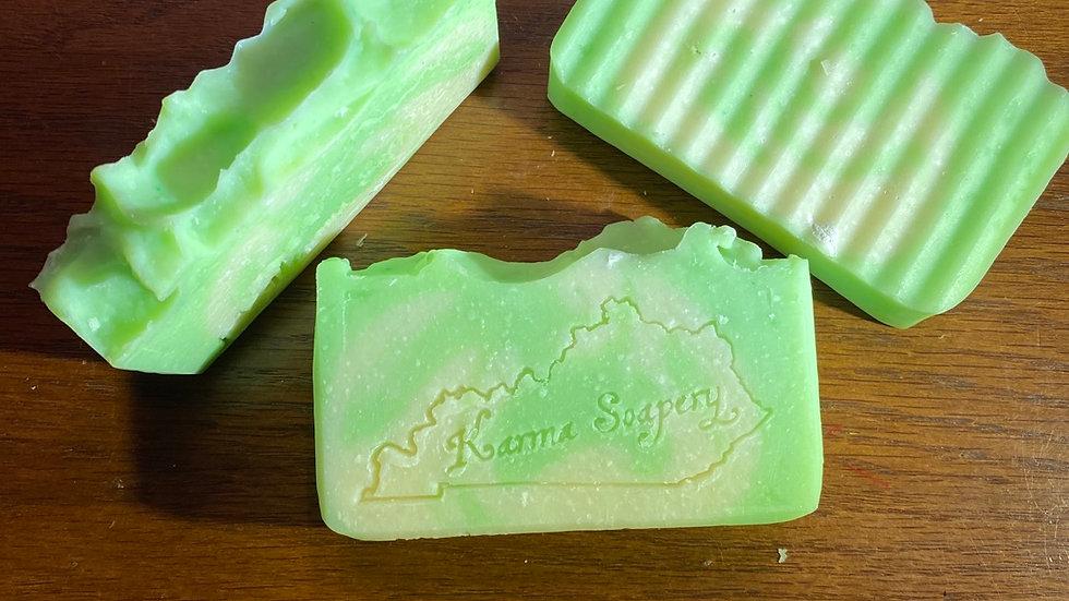 Coconut Lime Verbena Silk Soap