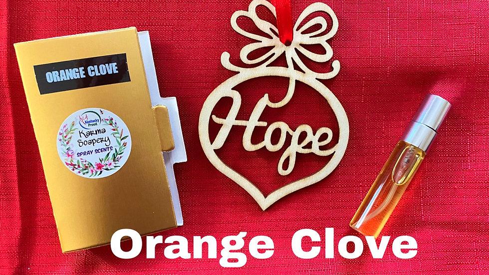 Orange Clove Ornament Air Freshener