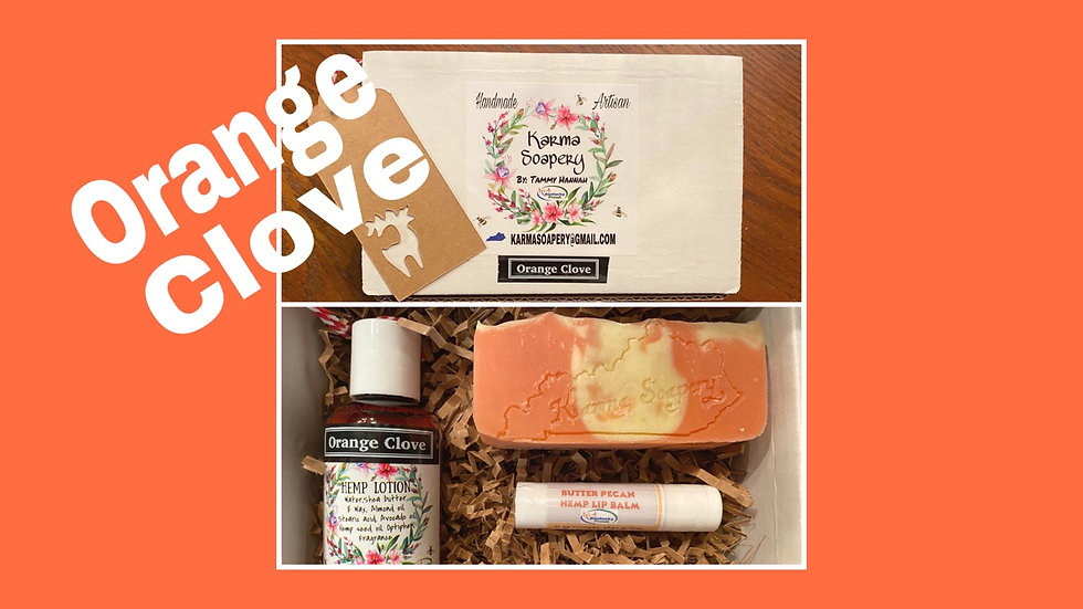 Orange Clove Boxed Gift Set