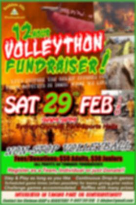 12 Hour Volleython Bushfire Fundraiser.j
