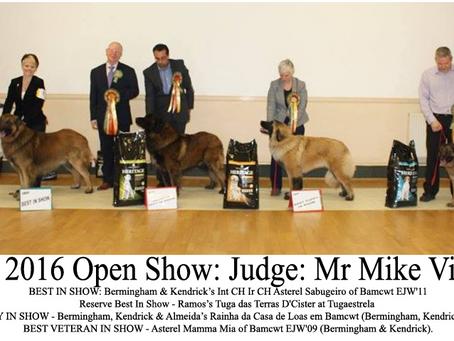 April 2016 Open Show