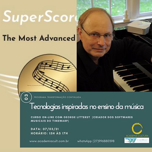 Tecnologias inspiradas no ensino da música