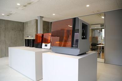 ショールーム Formlabs 3Dプリンター