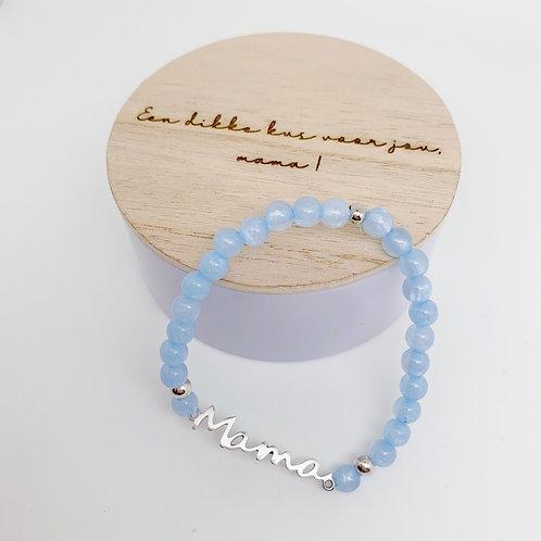 Gepersonaliseerd juwelendoosje met mama-armband