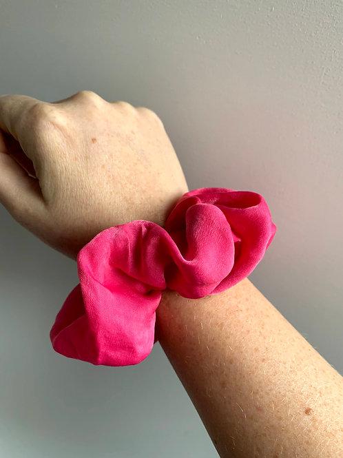 Scrunchie roze