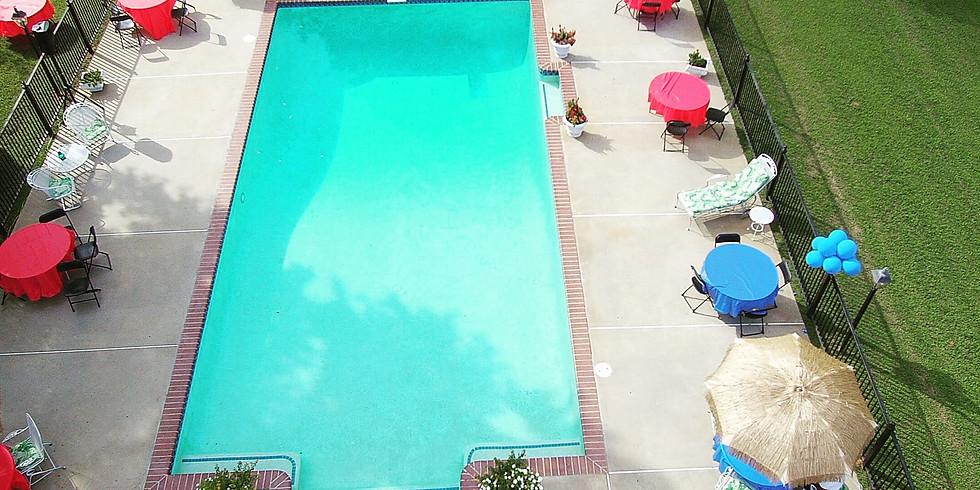 Skyler Pool party