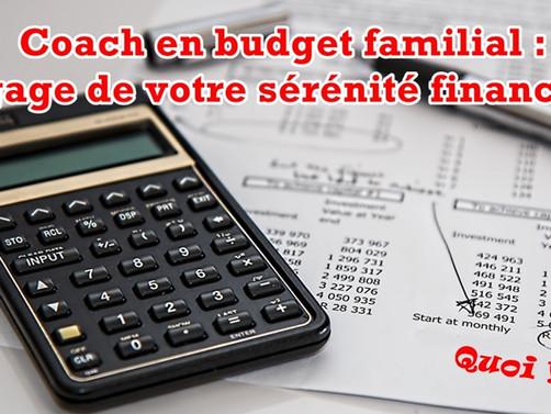 Coach en budget familial : le gage de votre sérénité financière