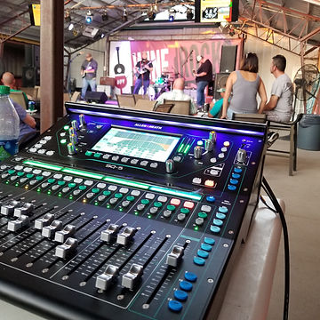 Live audio and lighting