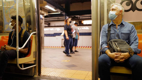 Fine for Subway Riders not Wearing a Mask