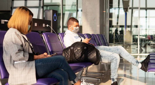 Fine for Airport Travelers not Wearing a Mask