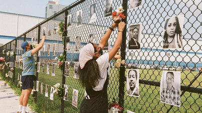 Waterfront Memorial Honoring Black Lives