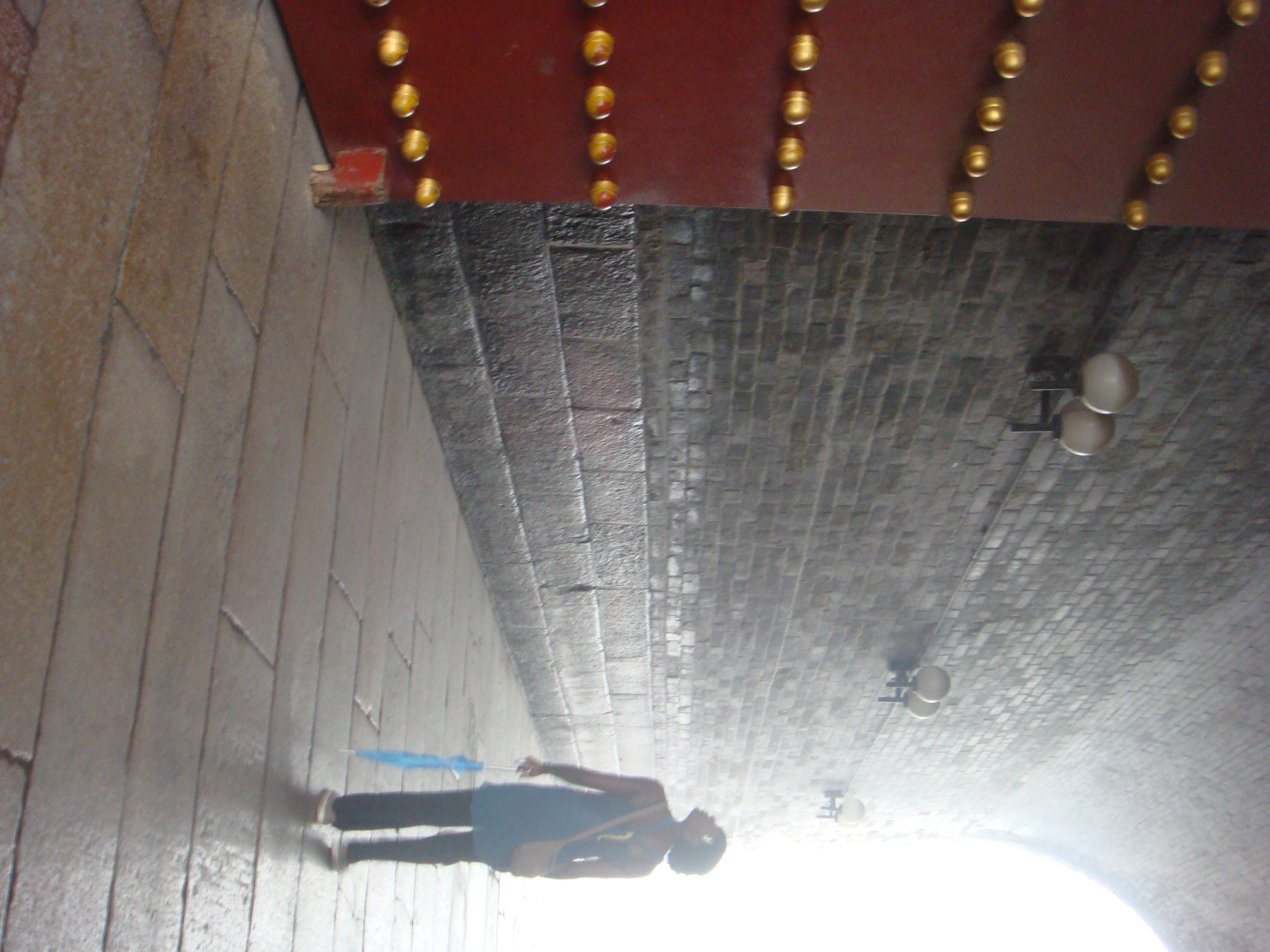Just inside the Zhengyangmen Gate