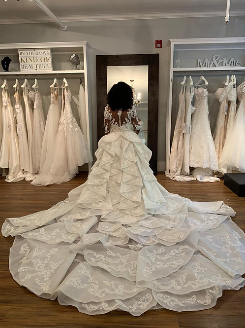 2 piece Wedding Dress - Paris Collection 2020-3