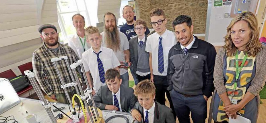 3D printers turn Designs into Reality for Les Voies pupils