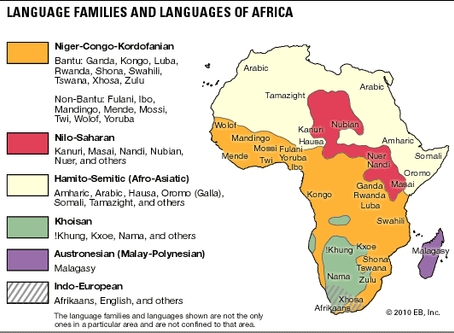 Africa and Her Languages - Kin by Tongue