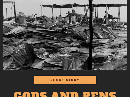 Gods and Pens - Short Story by William Moore