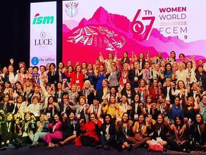 Presentes en el 67º Congreso Mundial de FCEM en Perú