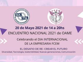 Encuentro Nacional OAME en el Día de la Mujer Empresaria FCEM
