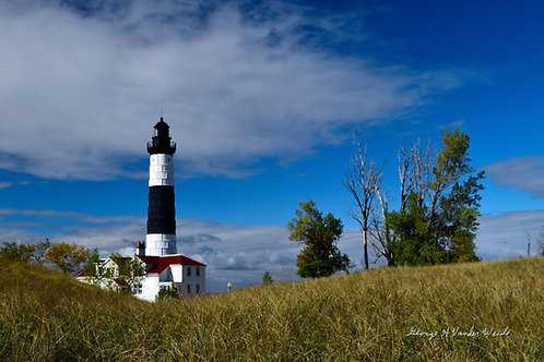 Big Sauble Point Lighthouse  Print