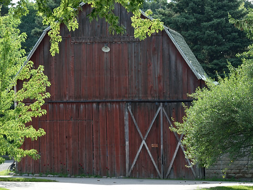 Barn Door Fine Art Print