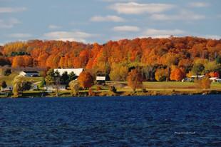 Lake Leelanau in her Autumn Dress DSC_45