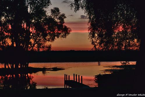 Sunrise River Print