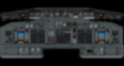 737NG Cockpit poster