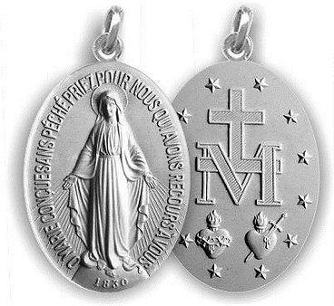 A medalha da Imaculada Conceição, chamad