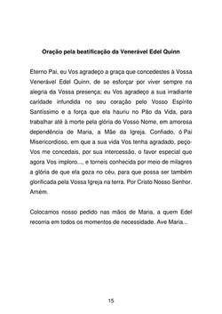Oração pela beatificação de Edel Quinn