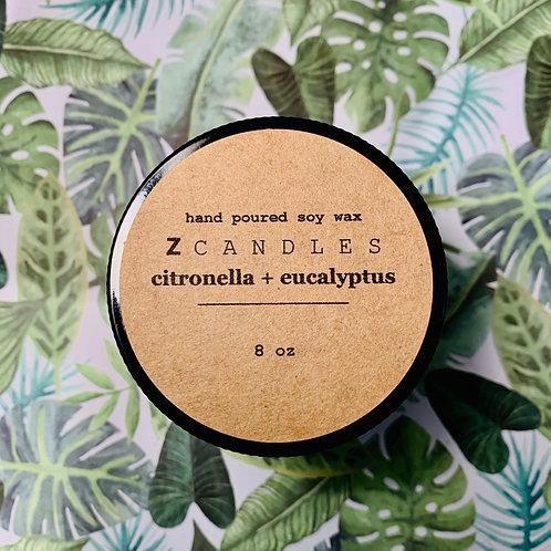 citronella + eucalyptus