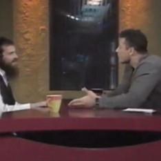 רוני אילון הירש אצל יאיר לפיד באולפן   סיפור החזרה בתשובה