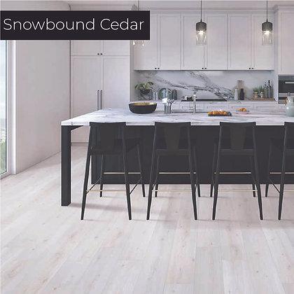 Snowbound Cedar Laminate Flooring, Sample