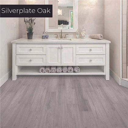 Silverplate Oak Laminate Flooring, Sample