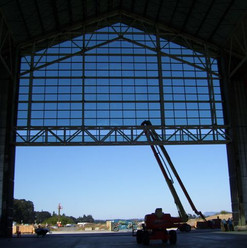 Davis Door Vertical Lift - Aircraft Hanger