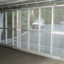Davis Door Sliding Gate - Silver Glen