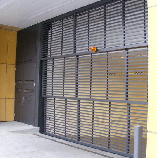 Davis Door Vertical Lift - Black Powder Coat