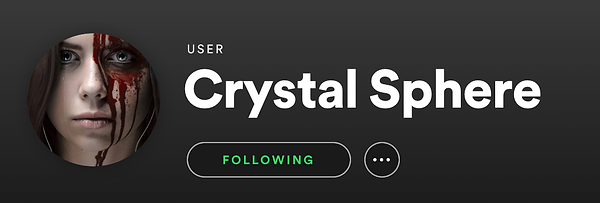 Crystal Sphere Series Spotify