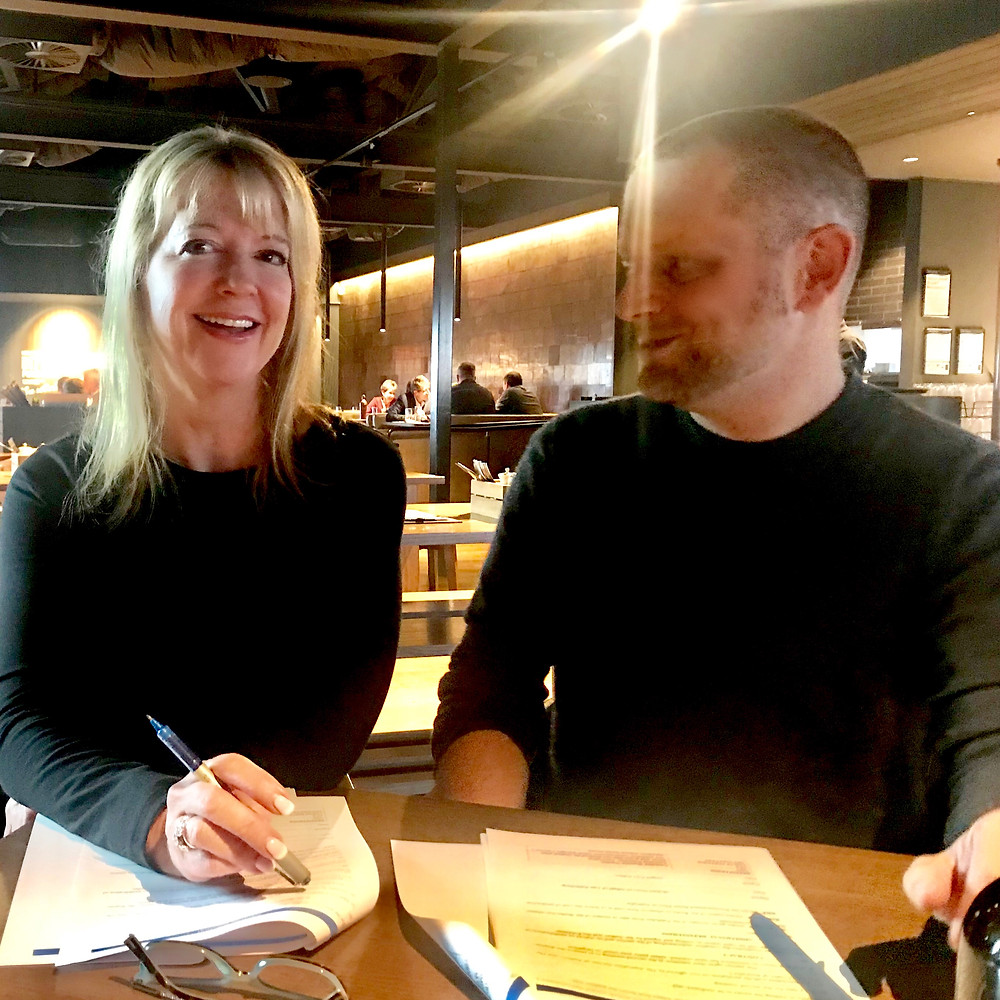 Ingrid Fry signing with Tale Publishing Publisher, Robert New