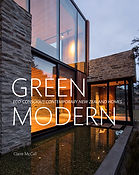 Green Modern: Claire McCall. Designed by Jenny Haslimeier