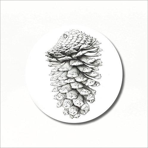 Coaster - Pine Cone